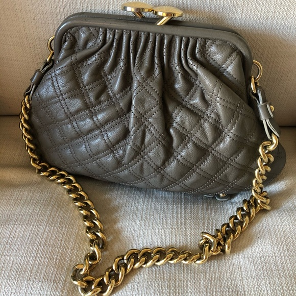Marc Jacobs Handbags - Marc Jacobs Mini Quilted Stam Bag